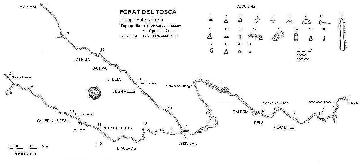 topo Forat del Toscà