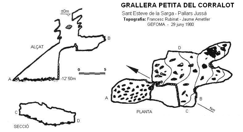 topo Grallera Petita del Corralot
