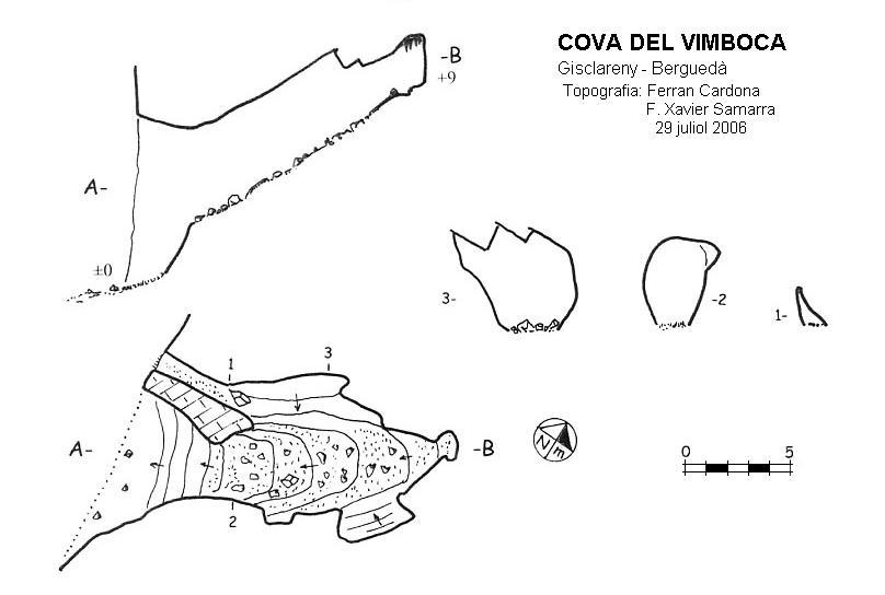 topo Cova del Vimboca