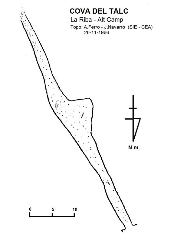 topo Cova de la Riba