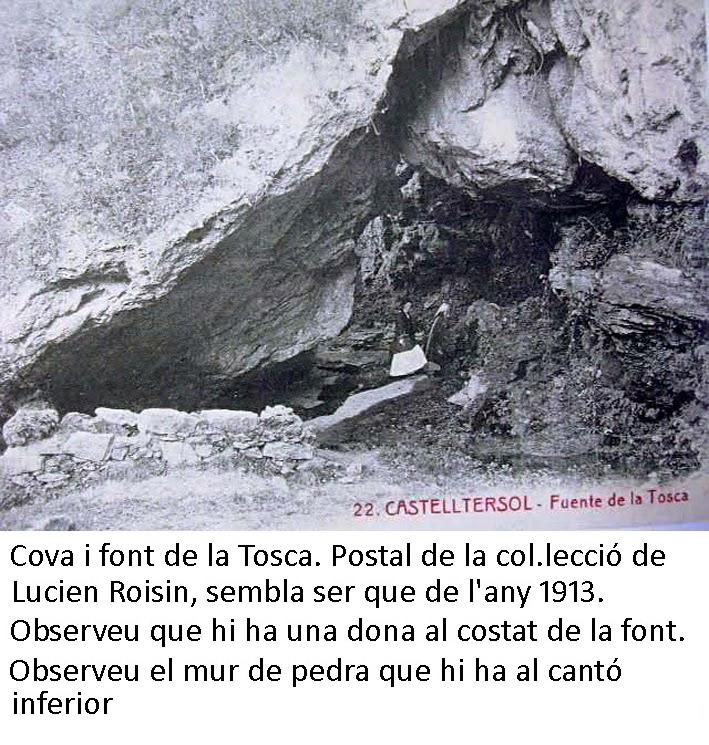 foto Cova de la Font de la Tosca