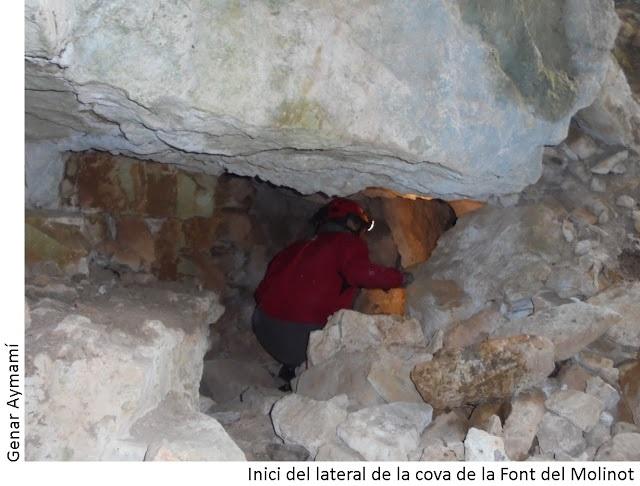 foto Cova de la Font del Molinot
