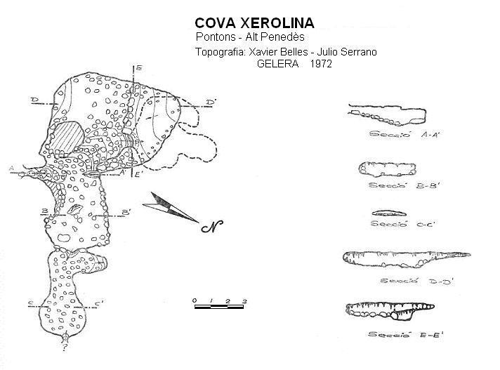 topo Cova Xerolina