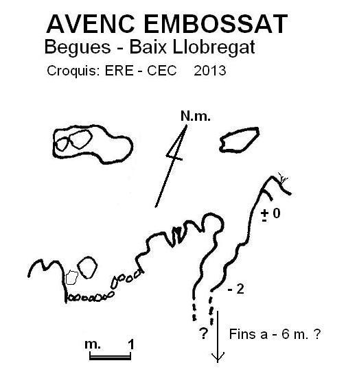 topo Avenc Embossat