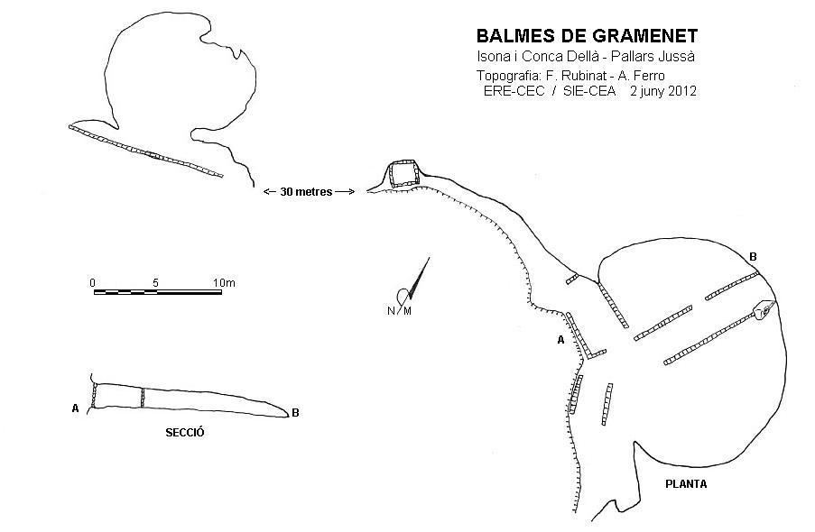 topo Balmes de Gramenet