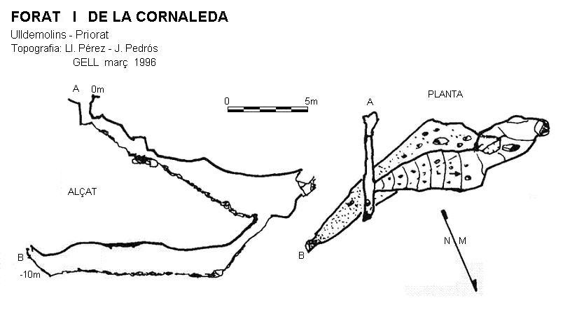 topo Forat I de la Cornaleda