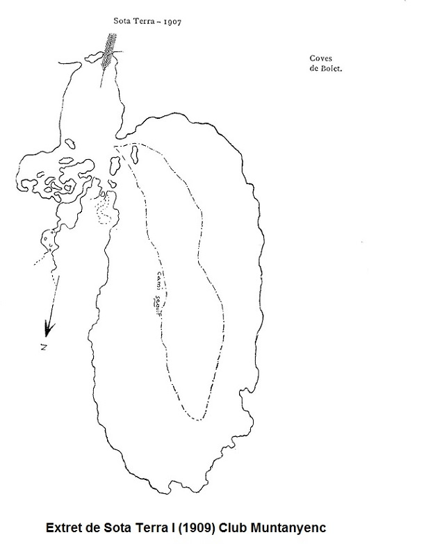 topo Cova del Bolet
