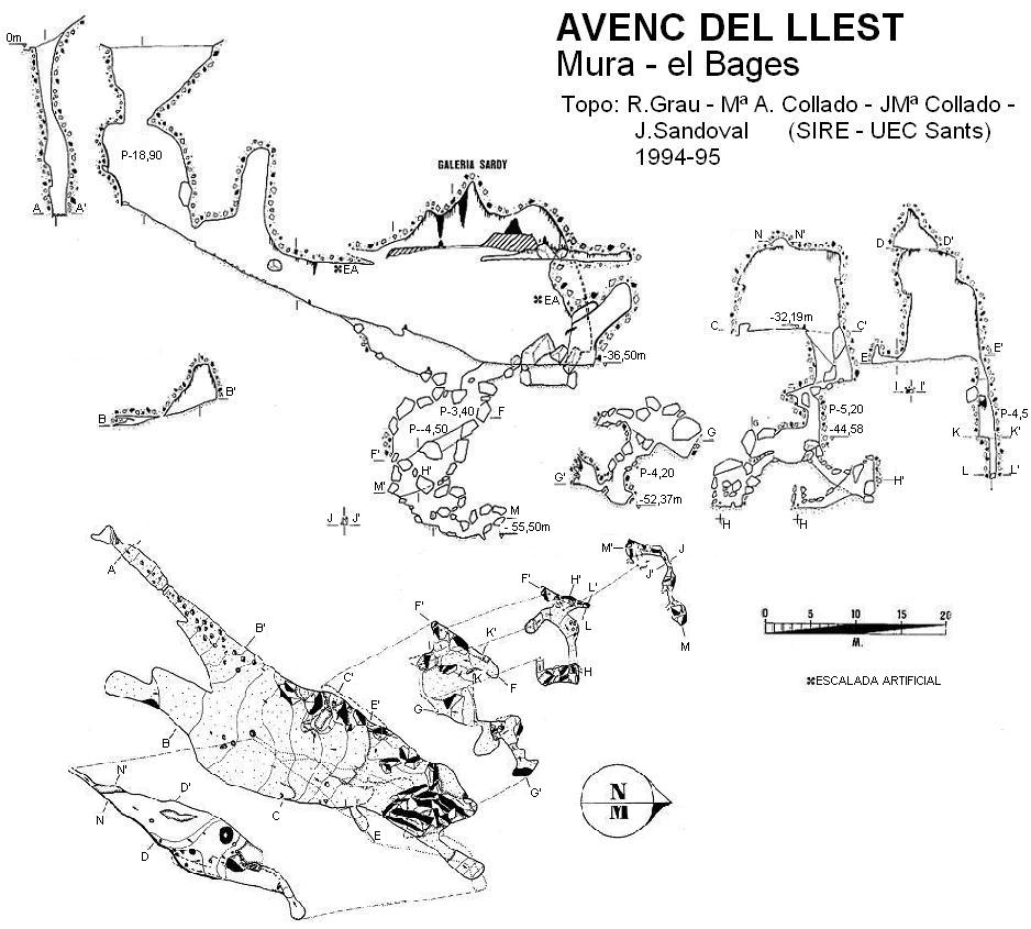 topo Avenc del Llest