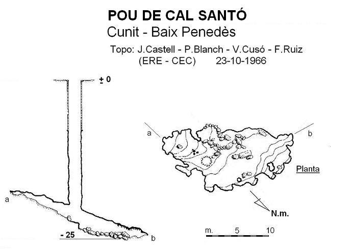 topo Pou de Cal Santó