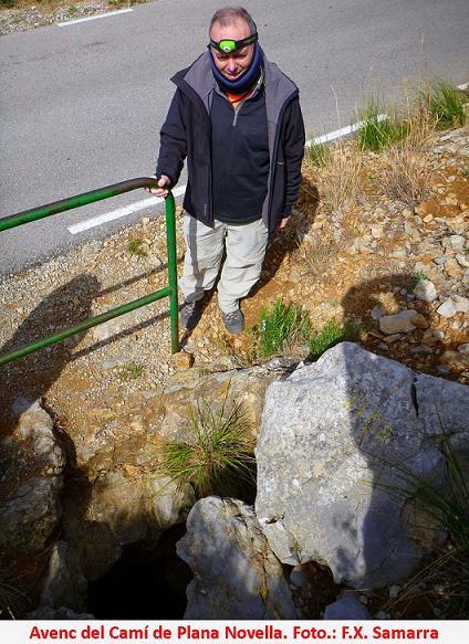 foto Avenc del Camí de Plana Novella