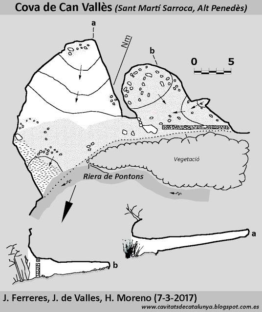 topo Cova de Can Vallès