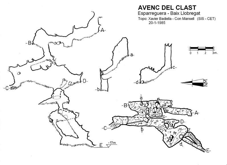 topo Avenc del Clast