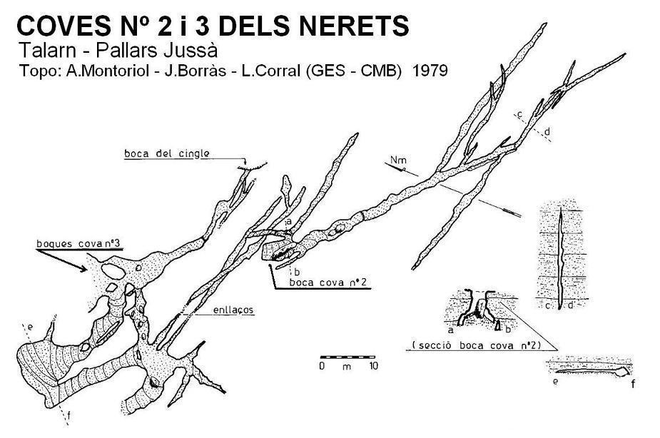 topo Cova Nº2 dels Nerets