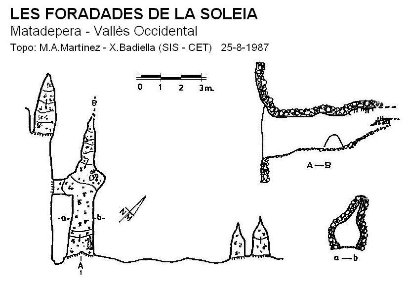 topo Foradades de la Soleia