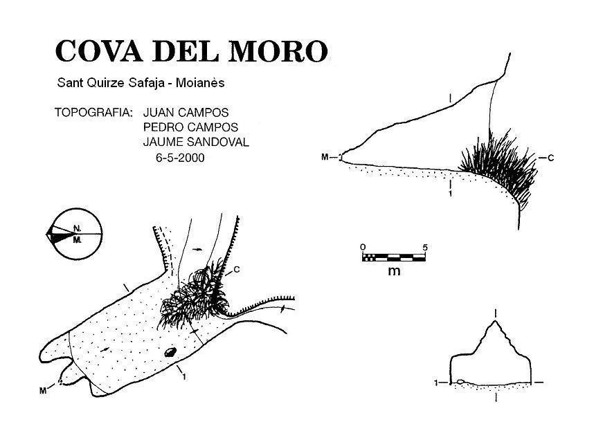 topo Cova del Moro