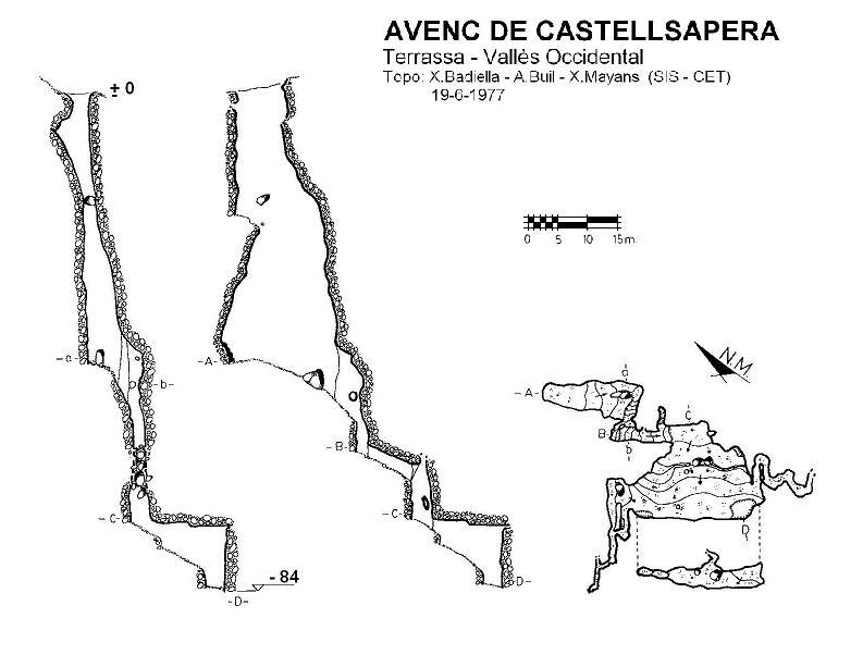 topo Avenc de Castellsapera