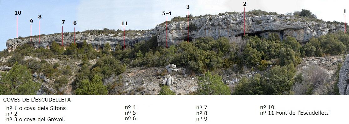 foto Cova Nº2 de l'Escudelleta