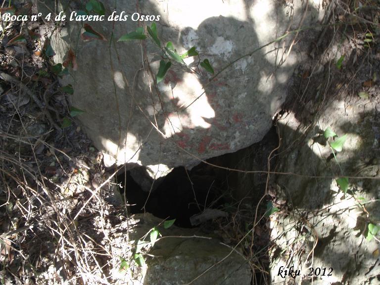foto Avenc dels Ossos