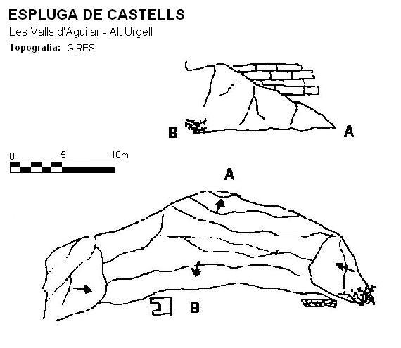 topo Espluga de Castells