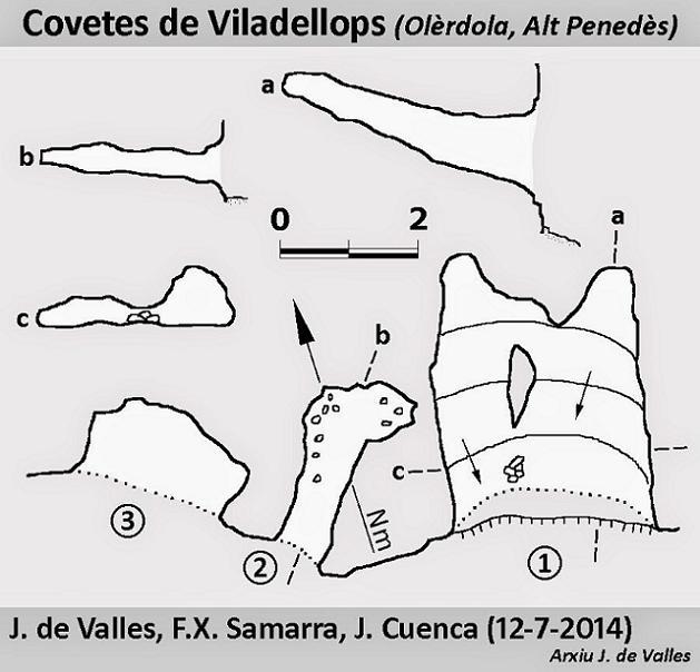 topo Covetes de Viladellops