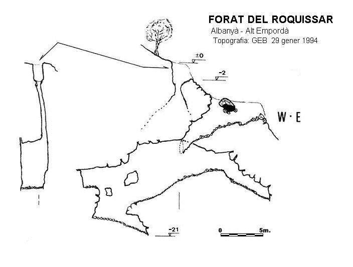 topo Forat del Roquissar