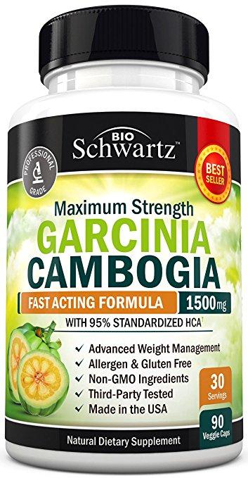 Best Garcinia Cambogia Supplements Of 2019 Ranked