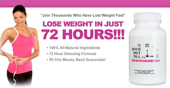 72 diet hour pill