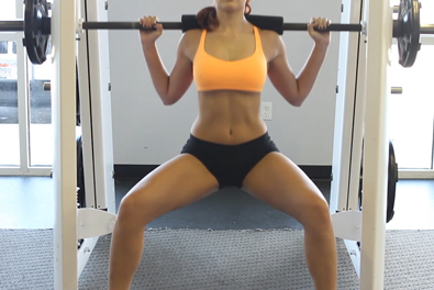 Best squat workouts for women- sumo squat