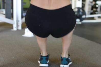 Best squat workouts for women- close-stance squat