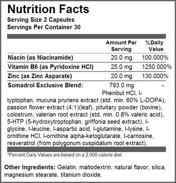 EST Nutrition SuppFacts