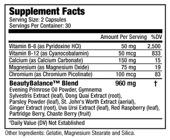 BeautyBalance SuppFacts