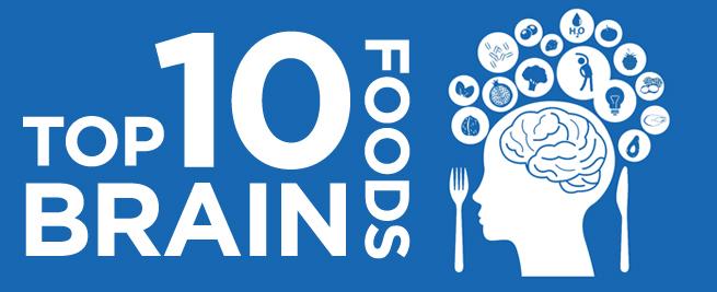Top 10 Brian Foods