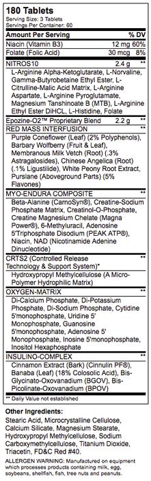 Epozine-O2 NT SuppFacts