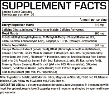 ProSupps I-Focus SuppFacts