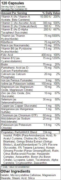 Optimum Nutrition PerforMAXX