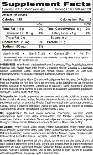 Dymatize Nutrition Elite Gourmet