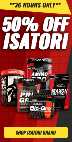 50% Off All Isatori Products