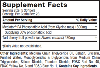 MuscleTech Performance Series Phospha Muscle Supplement Facts