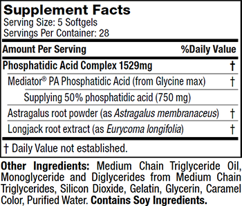 MuscleTech SX-7 Series PhosphaGrow SX-7 Black Onyx Supplement Facts