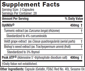 MuscleTech Performance Series Plasma Muscle Supplement Facts