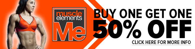 Muscle Elements Sale – Buy One, Get One 50% OFF!