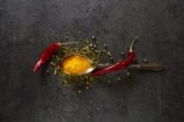 Turmeric With Peppers