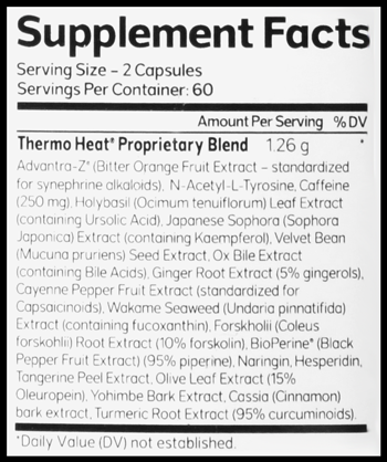 Thermo Heat SuppFacts