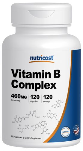 NC Vitamin B Complex 120 cap Bottle