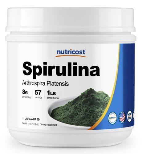 Spirulina 1LB Bottle
