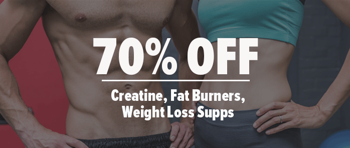 75% Off Select Fat Burners