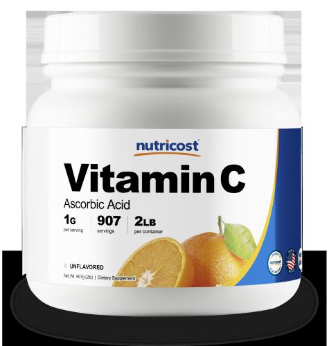 Vitamin C 2lb Bottle