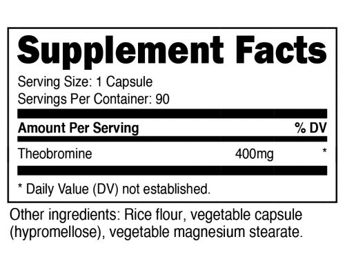 Nutricost Theobromine Supplement Facts