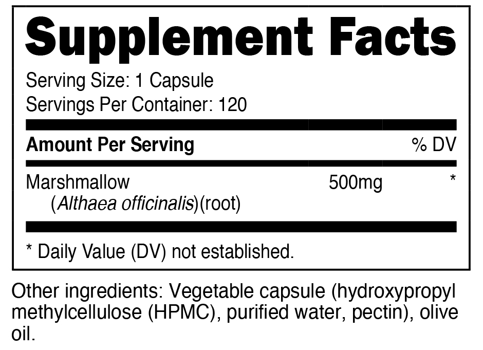 Nutricost Huperzine A Supplement Facts