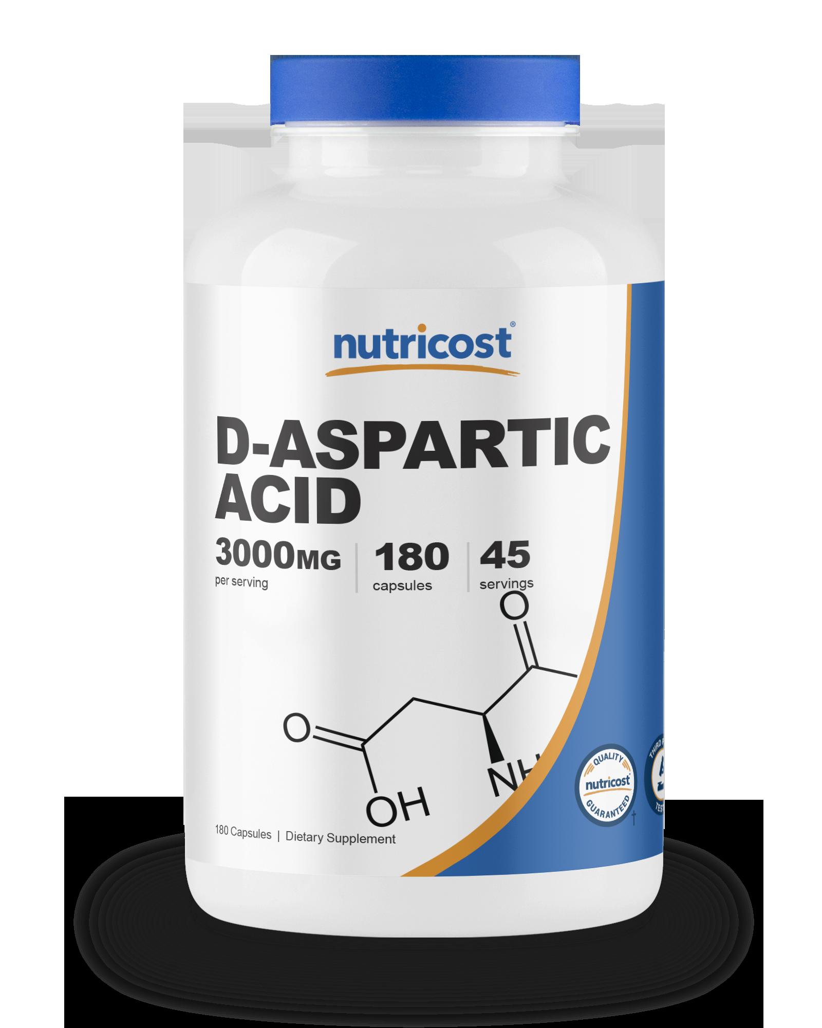 Nutricost D-aspartic acid